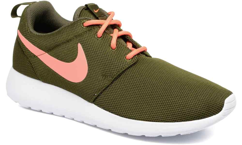 nike roshe run groen dames