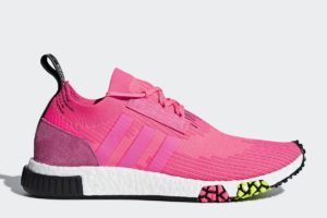 adidas nmd_racer dames roze roze sneakers dames