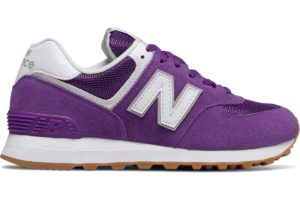 new balance 574 dames paars WL574ESW paarse sneakers dames