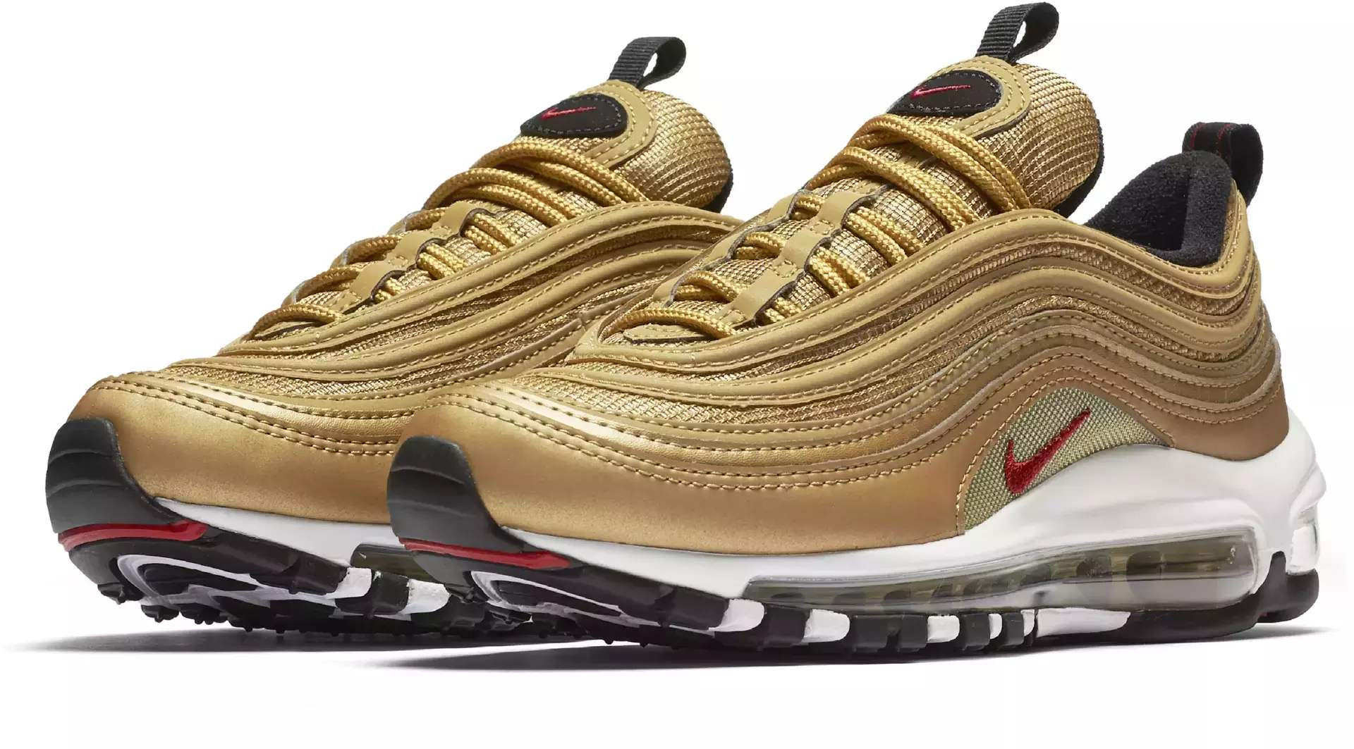 nike air max wit goud dames