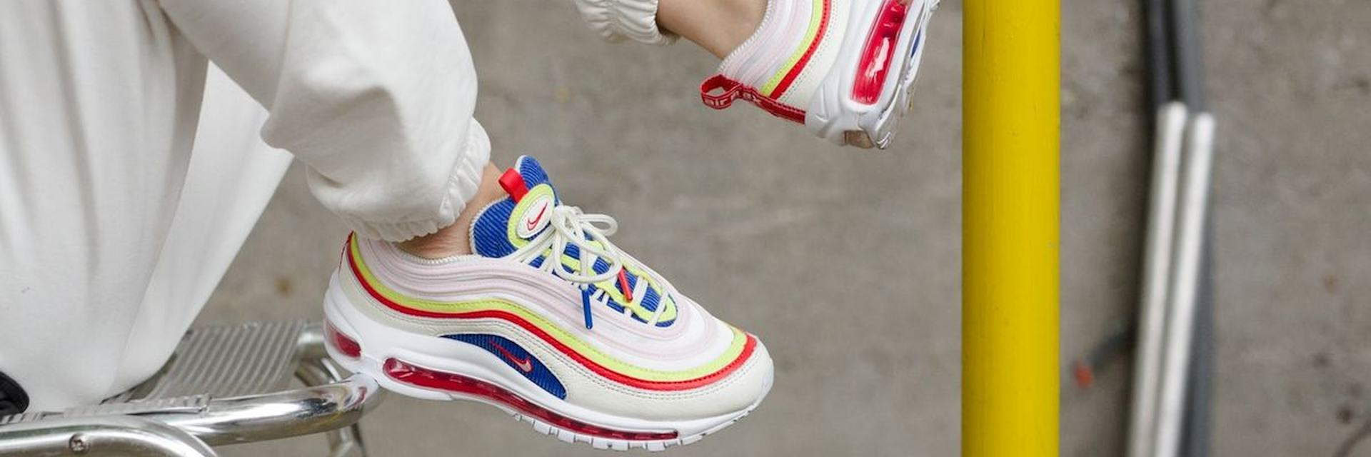 nike air max 97 dames rood