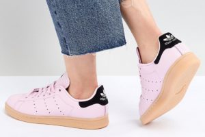 adidas-stan smith-dames-roze-cq2812-roze-sneakers-dames