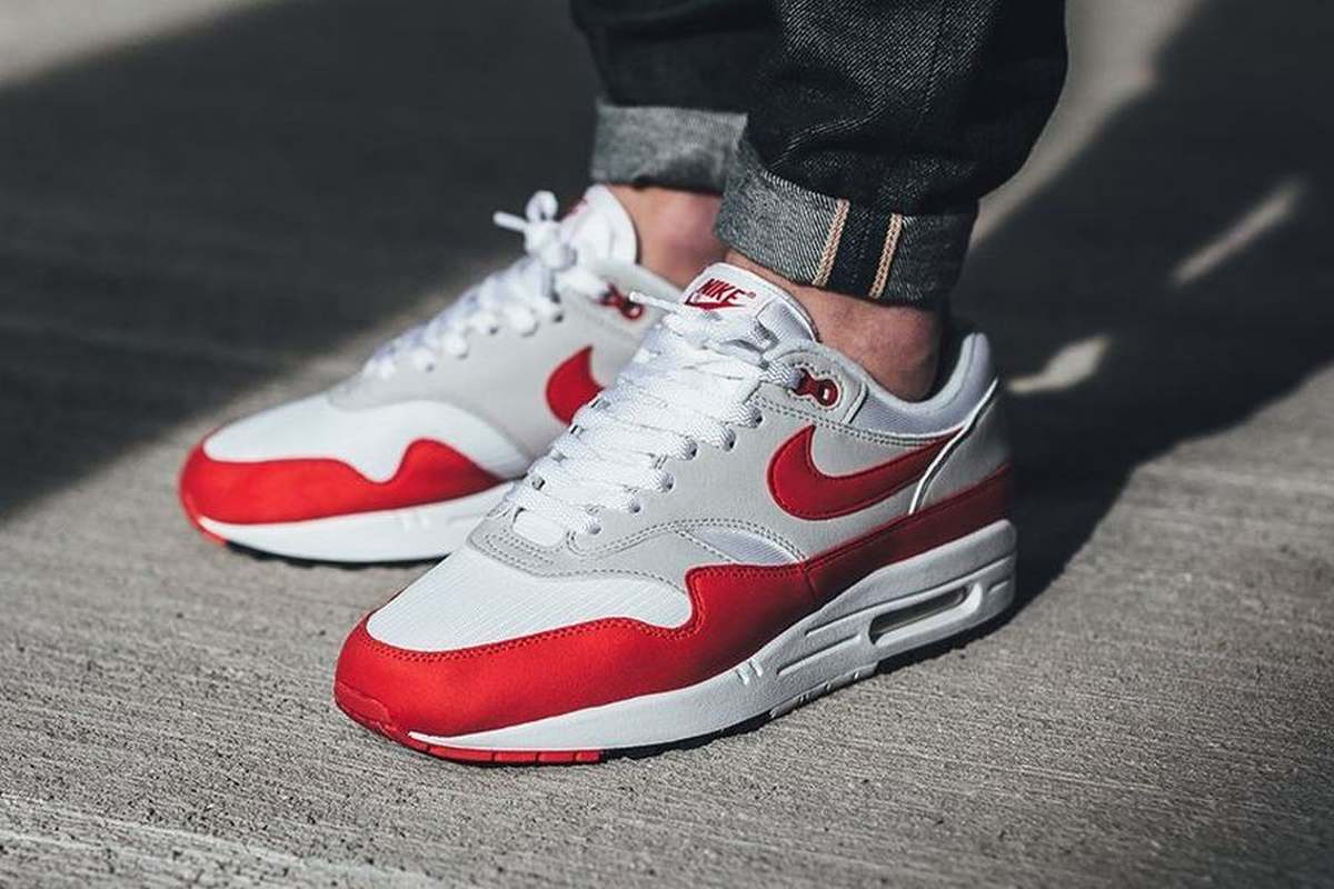 ᐅ • Nike Air Max 1 Anniversary 'University Red': een review