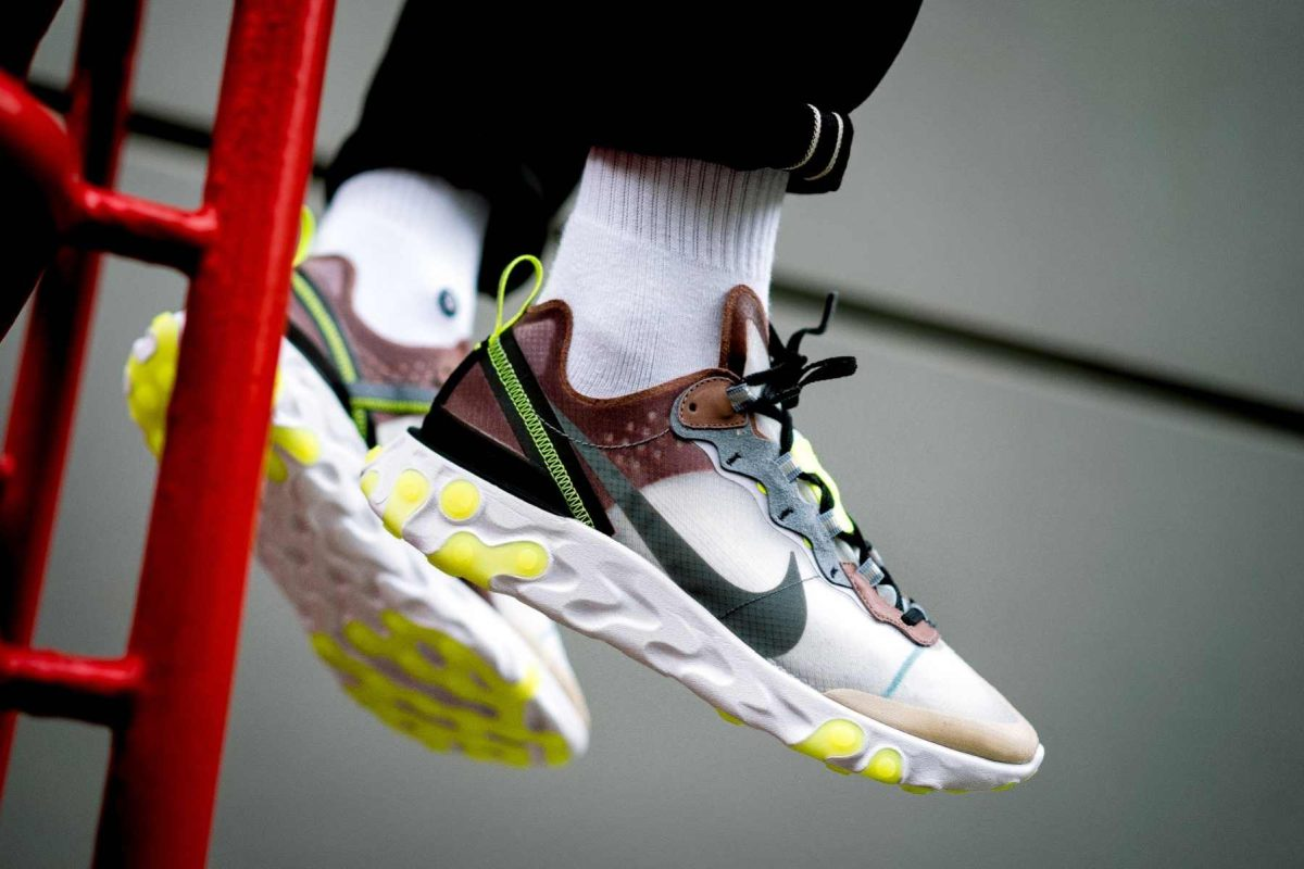 Nike React Element 87 Desert Sand AQ1090-002