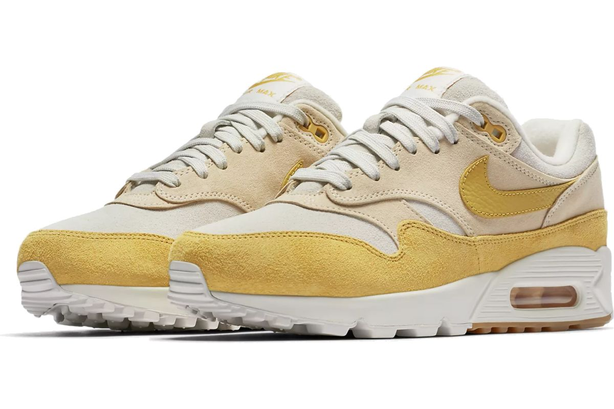 nike air max 90/1 dames geel