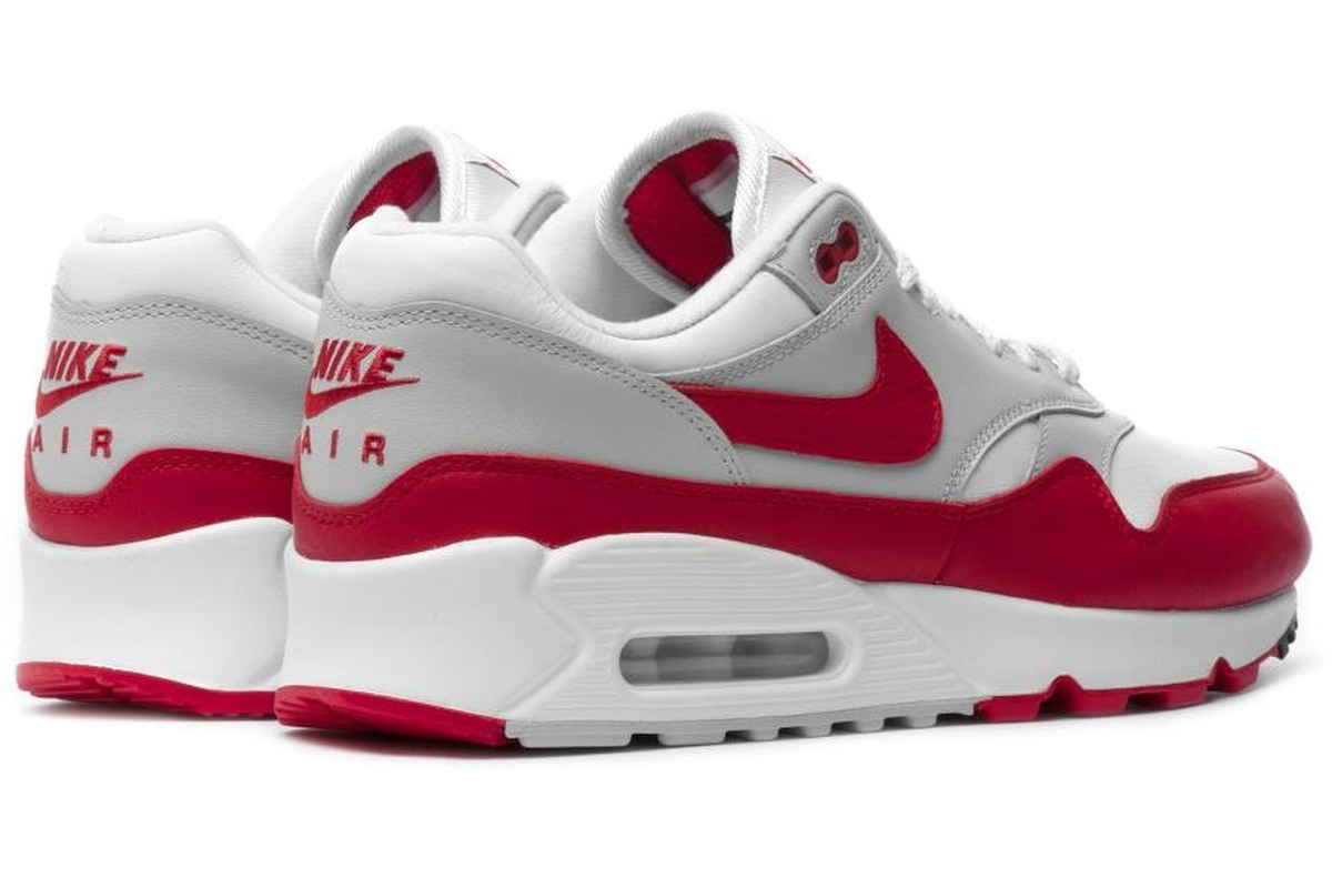 nike air max dames wit rood