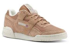reebok-workout lo plus-Dames-bruin-CN3835-bruine-sneakers-dames