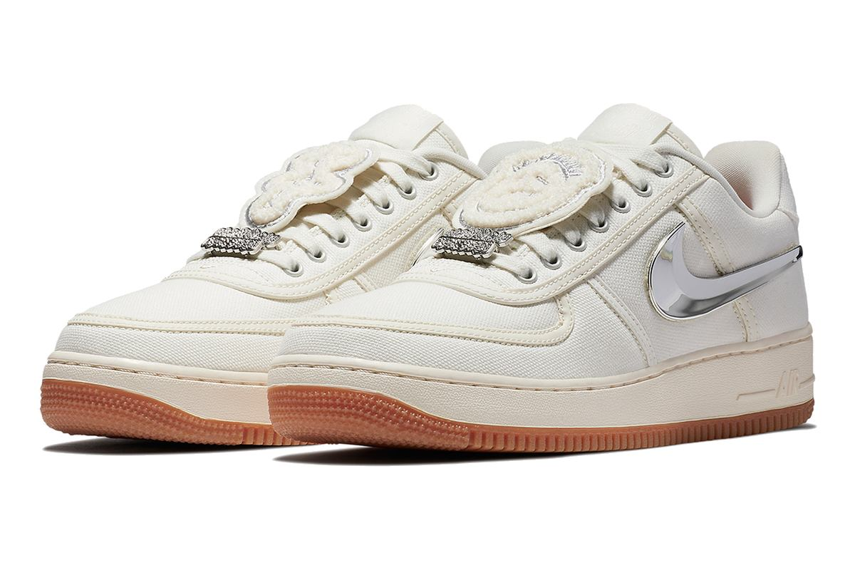 Nike Air Force 1 Travis Scott Sail AQ4211-101
