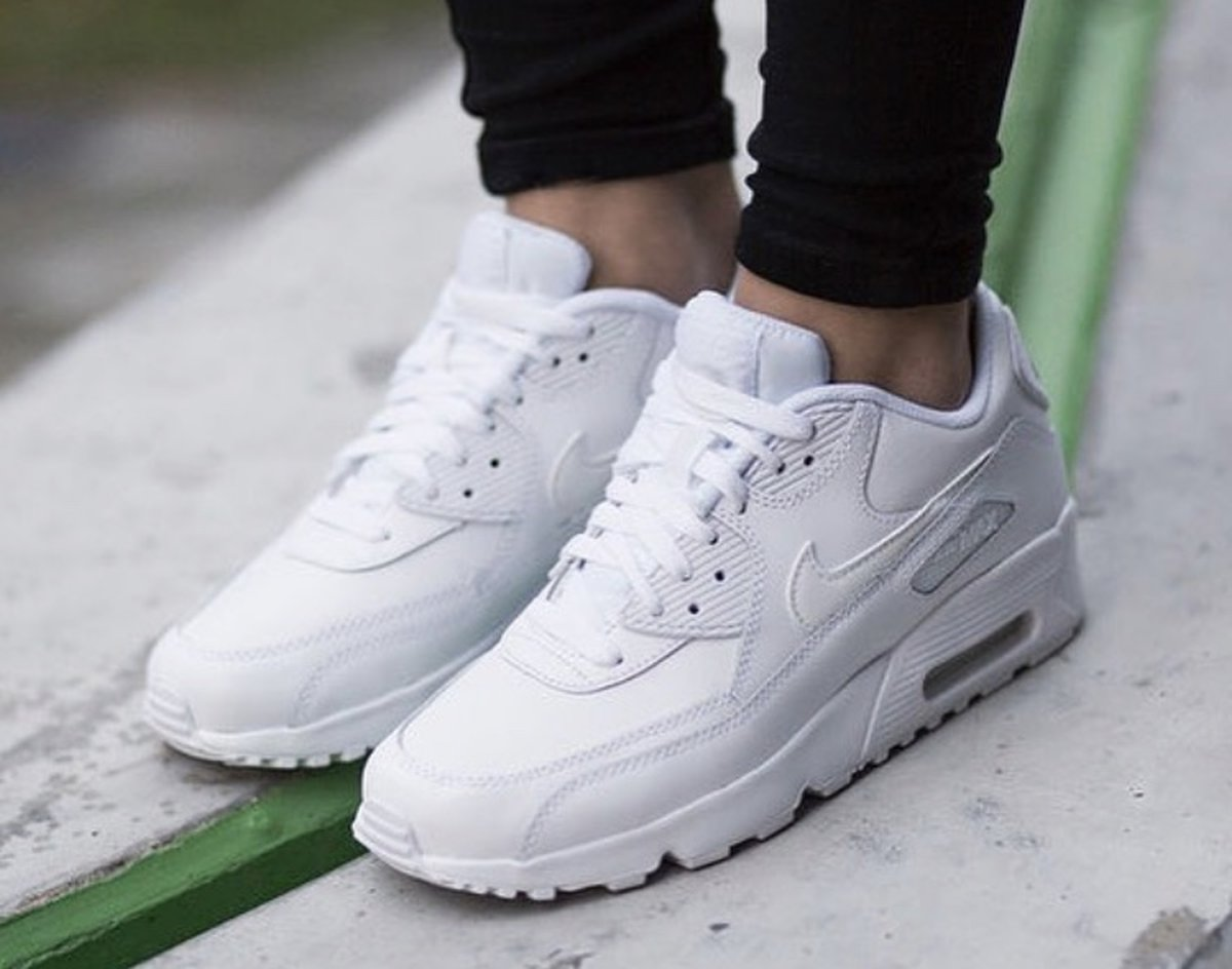 Nike Air Max 90 Wit Dames 921304-101