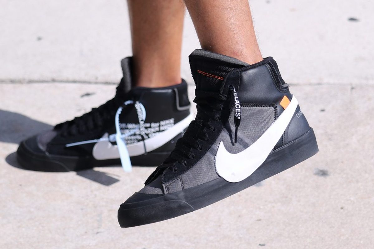 Nike Blazer by Off-White AA3832-001 AA3832-700
