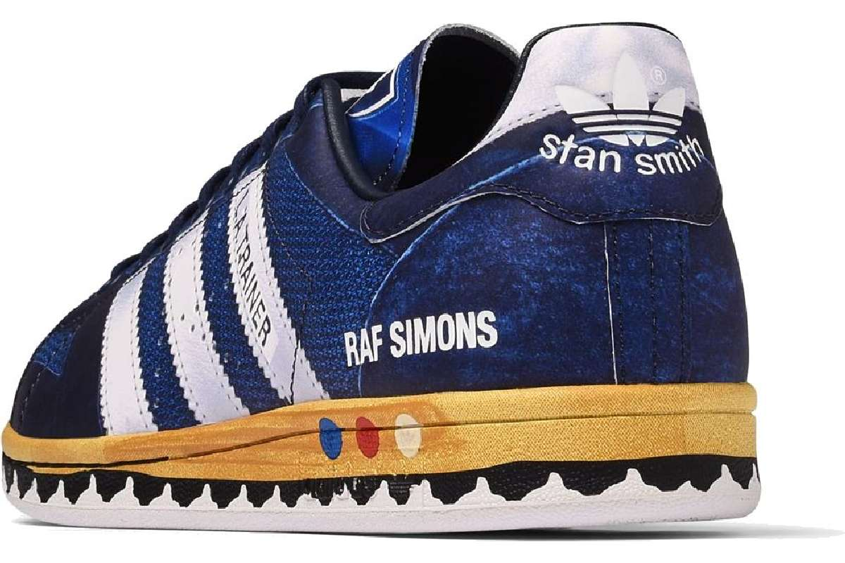 Raf Simons Los Angeles Stan Smith Blauw Heren Ee7951
