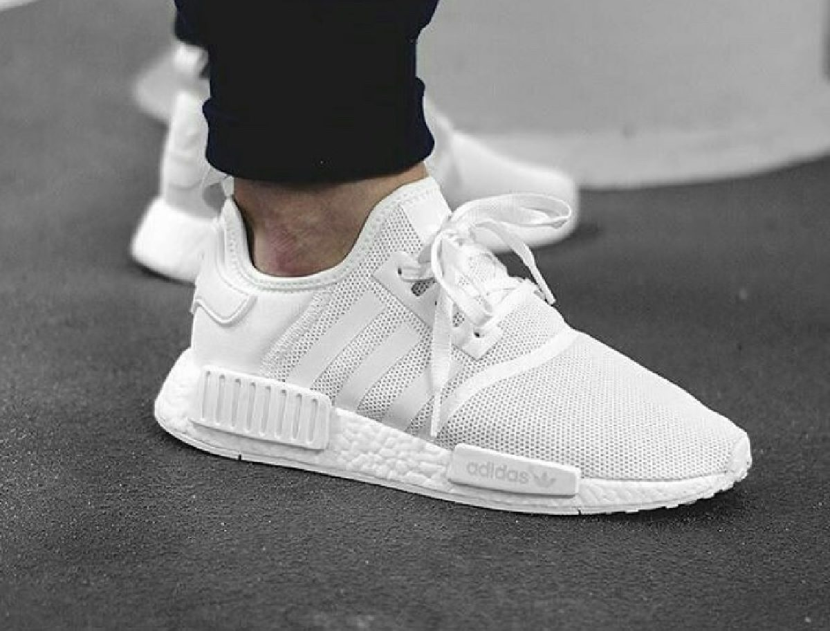 Adidas NMD R1 wit D96635