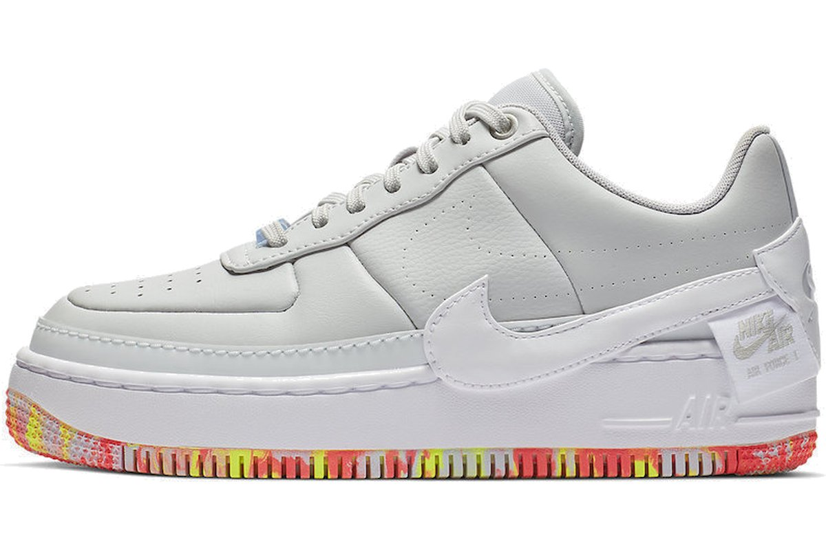 Nike Air Force 1 Dames Zilver Jester XX Print AV2461-001
