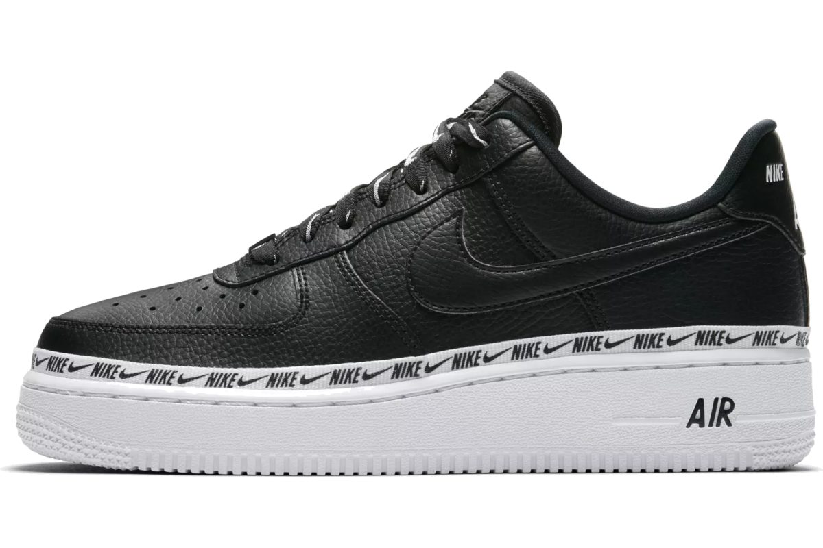 nike air force 1 low black dames|nike air force 1 low black ...