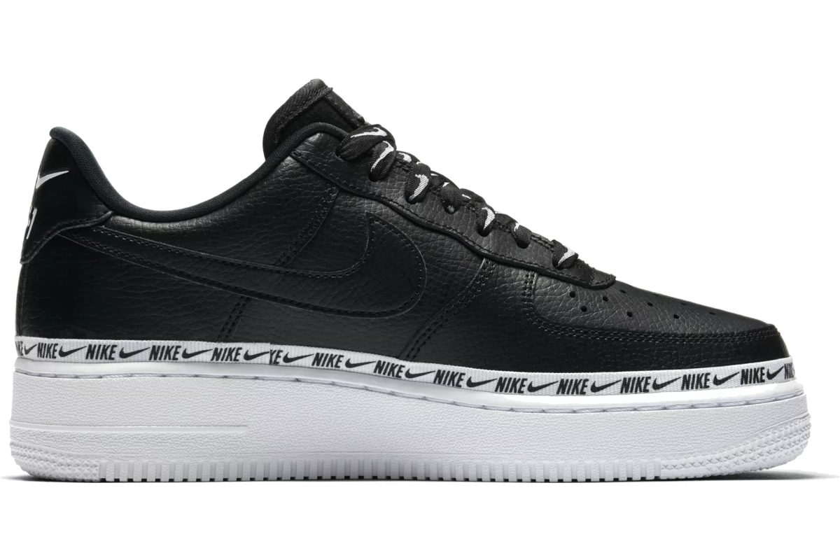Nike Air Force 1 Dames Zwart AH6827-002