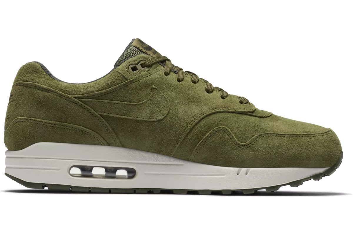 nike air max 1 heren groen 875844-301