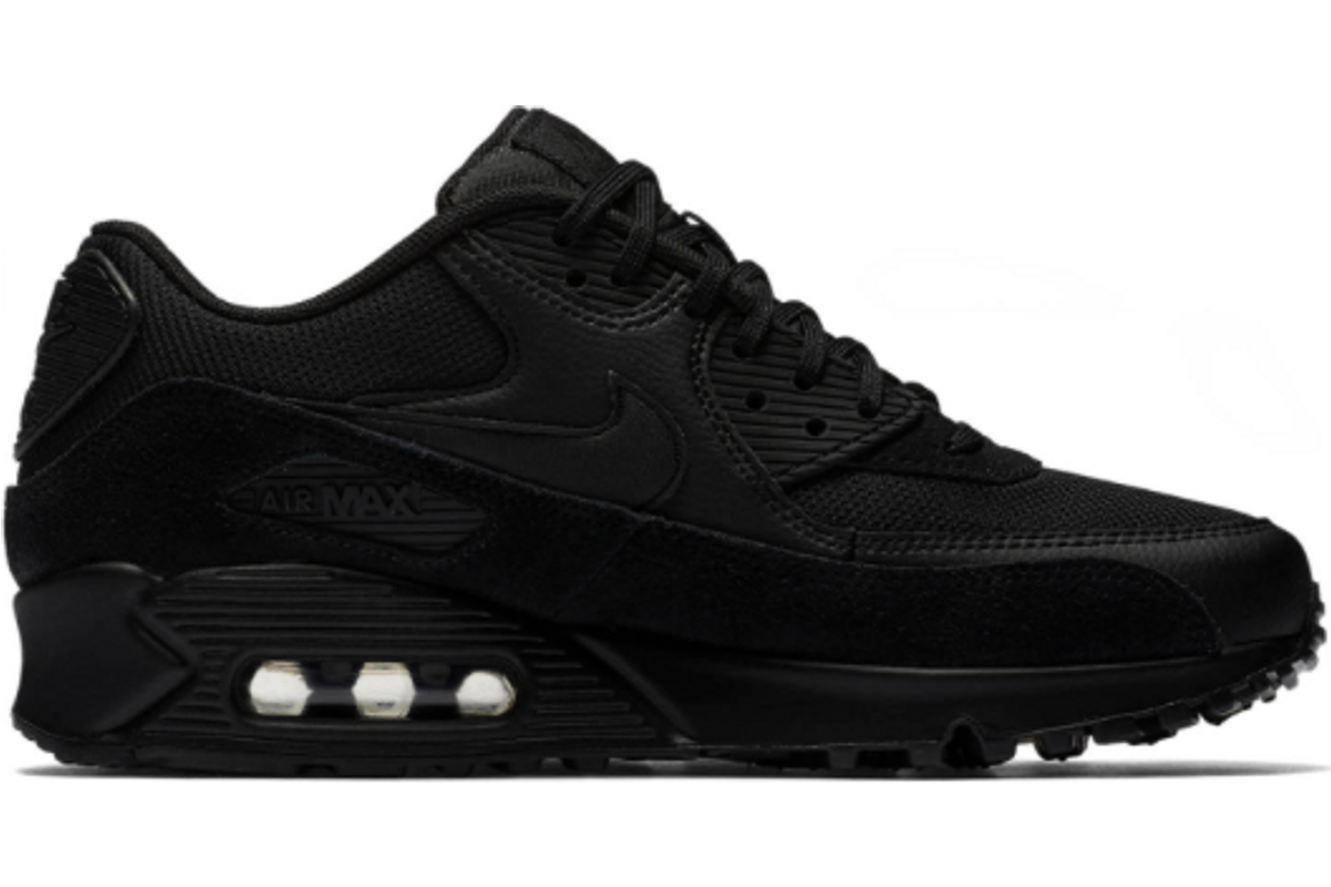 air max dames zwart