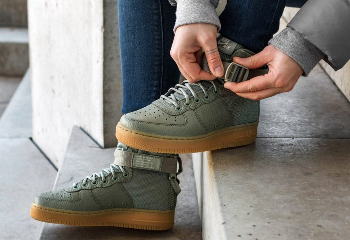 Nike Air Force 1 Special Field Mid Boots Grijs Aa3966 004 2