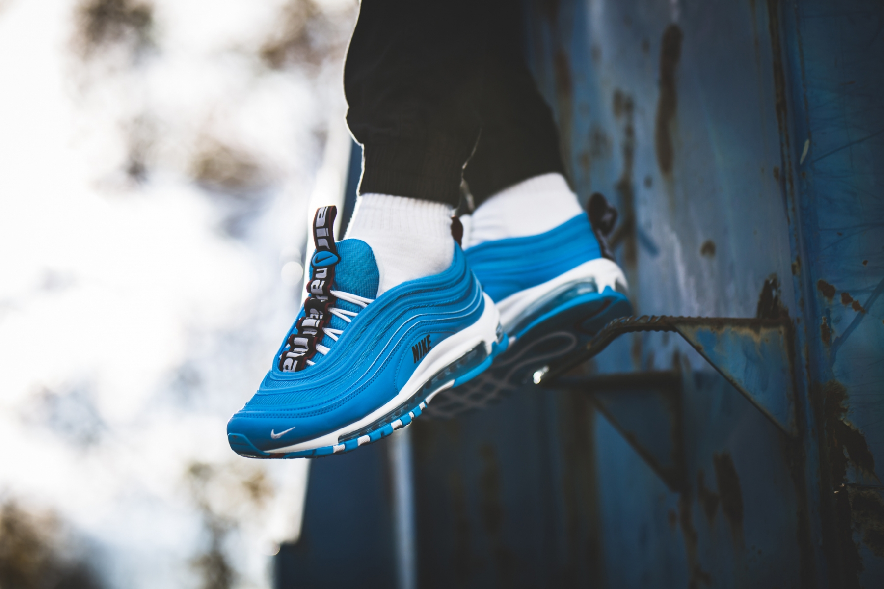 Nike Air Max 97 Heren Blauw 312834 401 8