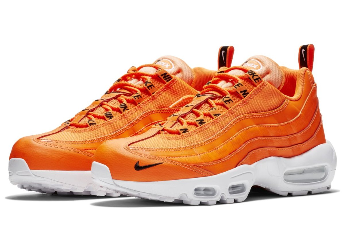 los angeles b01ea 44cd2 nike air max 95 oranje