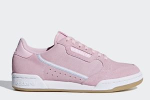 adidas-continental 80-Dames-roze-G27720-roze-sneakers-dames