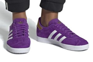 "Release: Adidas Gazelle Dames x TFL ""Transportation for London"" Paars"