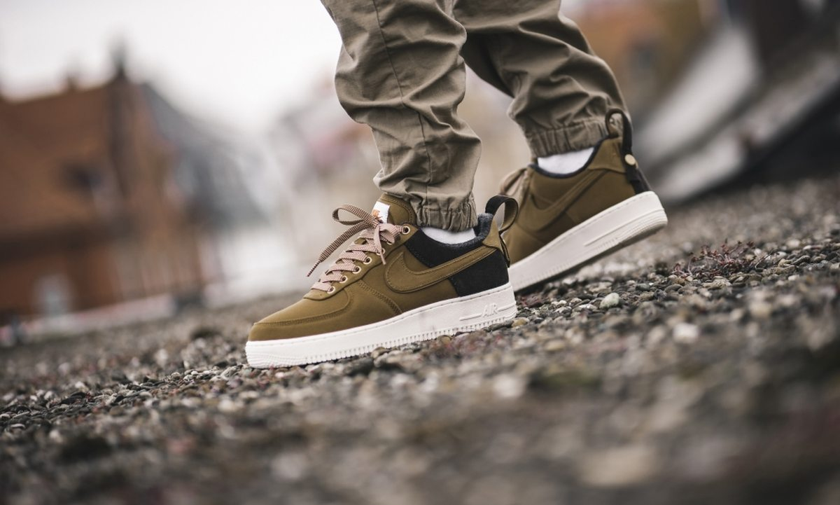Nike X Carhartt Wip Air Force 1 Heren Bruin Av4113 200 11