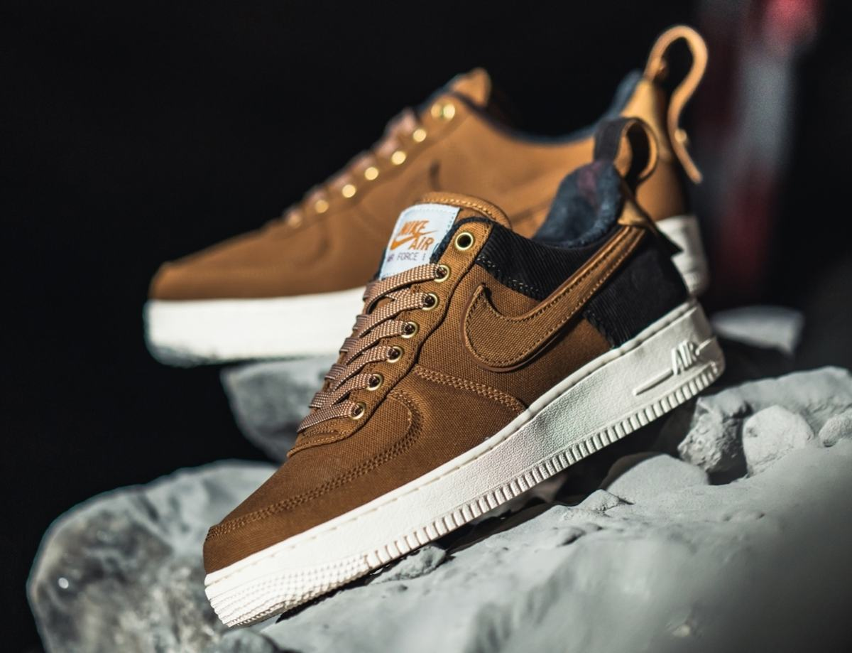 Nike X Carhartt Wip Air Force 1 Heren Bruin Av4113 200 13