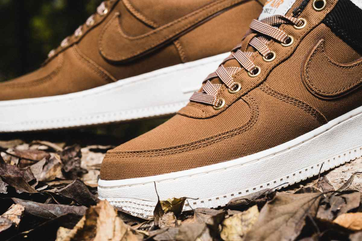 Nike X Carhartt Wip Air Force 1 Heren Bruin Av4113 200 16