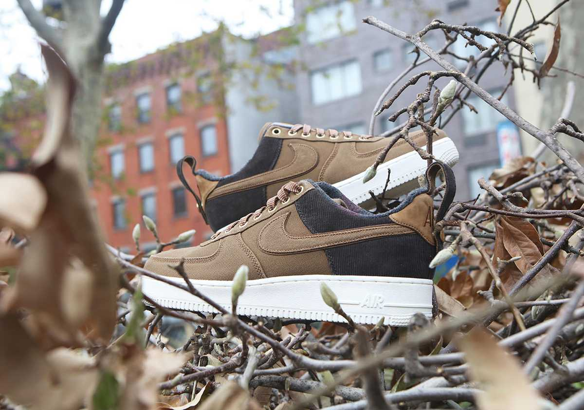 Nike X Carhartt Wip Air Force 1 Heren Bruin Av4113 200 22