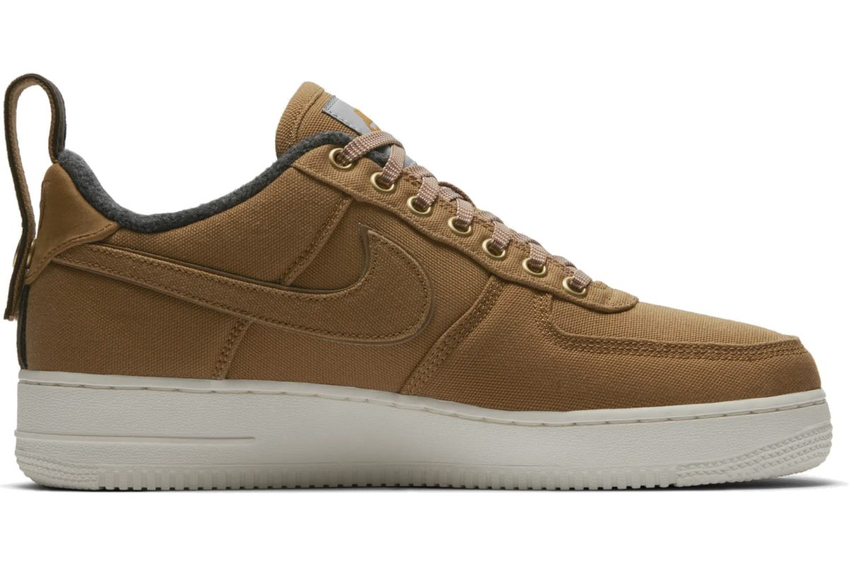 Nike X Carhartt Wip Air Force 1 Heren Bruin Av4113 200 5