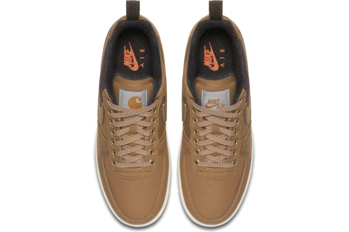 Nike X Carhartt Wip Air Force 1 Heren Bruin Av4113 200 6