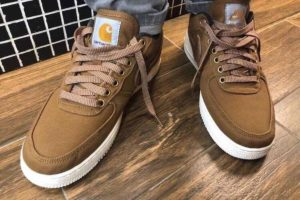 Nike X Carhartt Wip Air Force 1 Heren Bruin Av4113 200 8