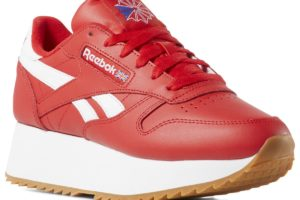 reebok-classic leather double-Dames-rood-DV3632-rode-sneakers-dames