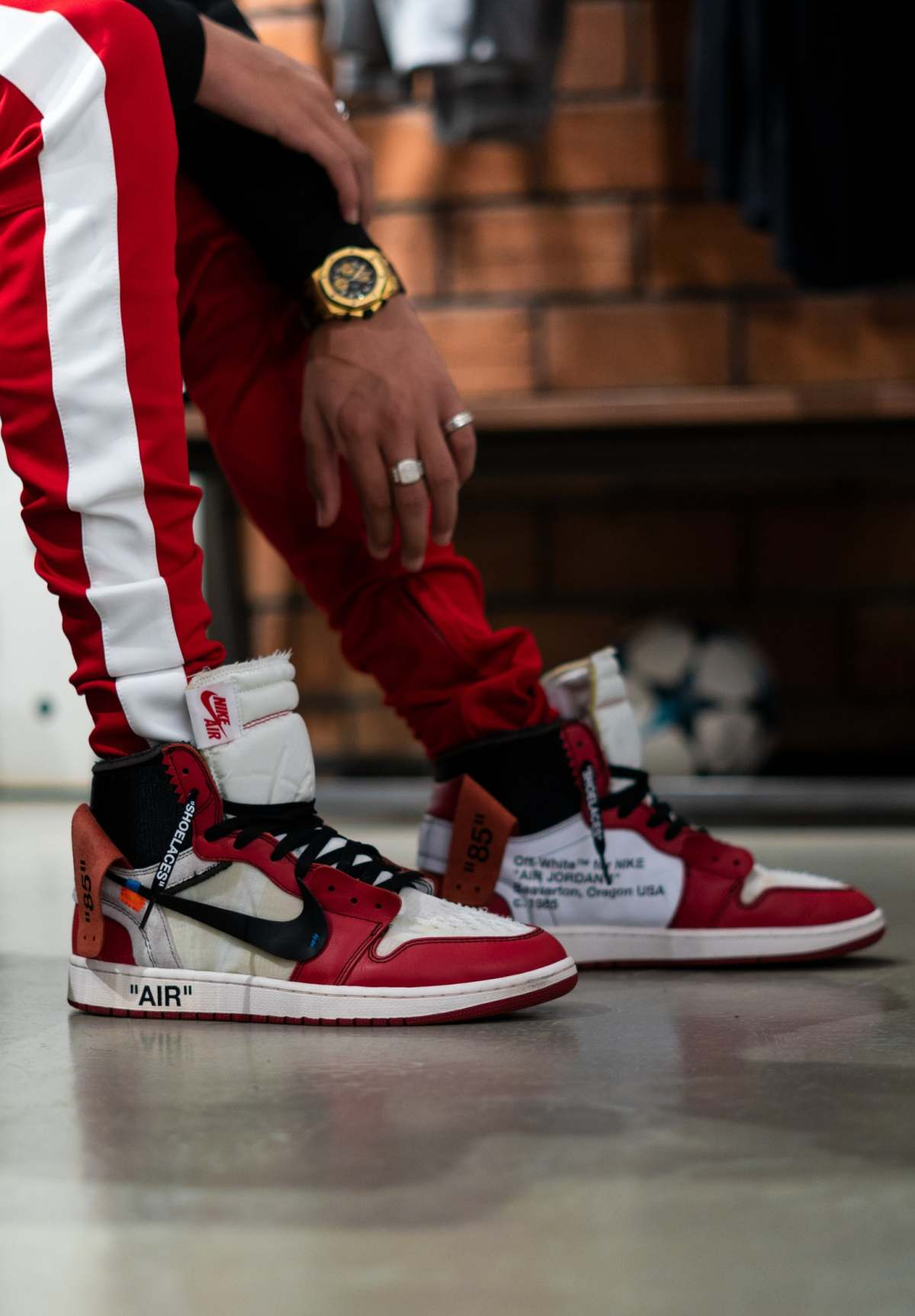 Jordan Air Jordan 1 Off White