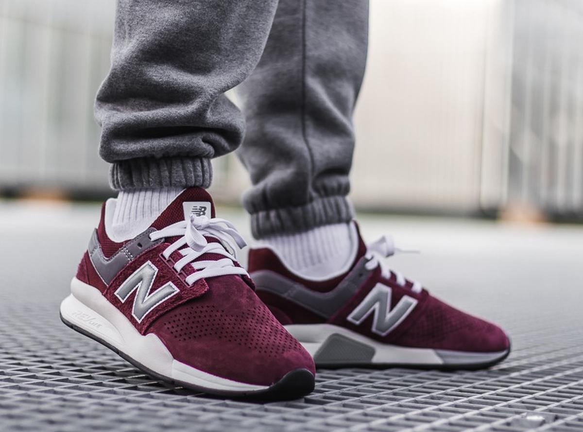 Afew Store Sneaker New Balance Ms247jy Jy Red 326