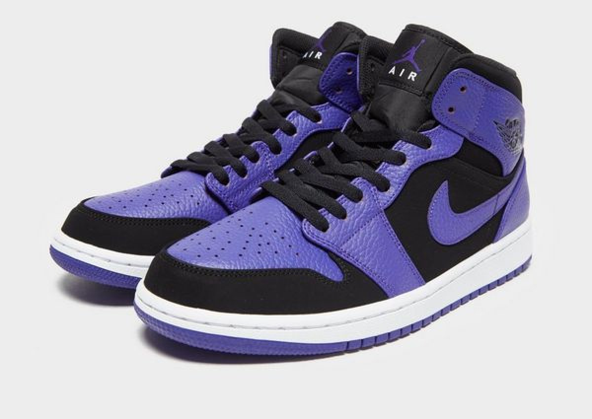 Air Jordan 1 Heren Zwart 554724 051 10
