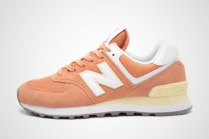 New Balance 574 Dames Oranje 698561 50 13 Oranje Sneakers Dames