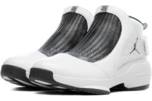 Nike Jordan Air Jordan 19 Retro Heren Wit Aq9213 100 Witte Sneakers Heren