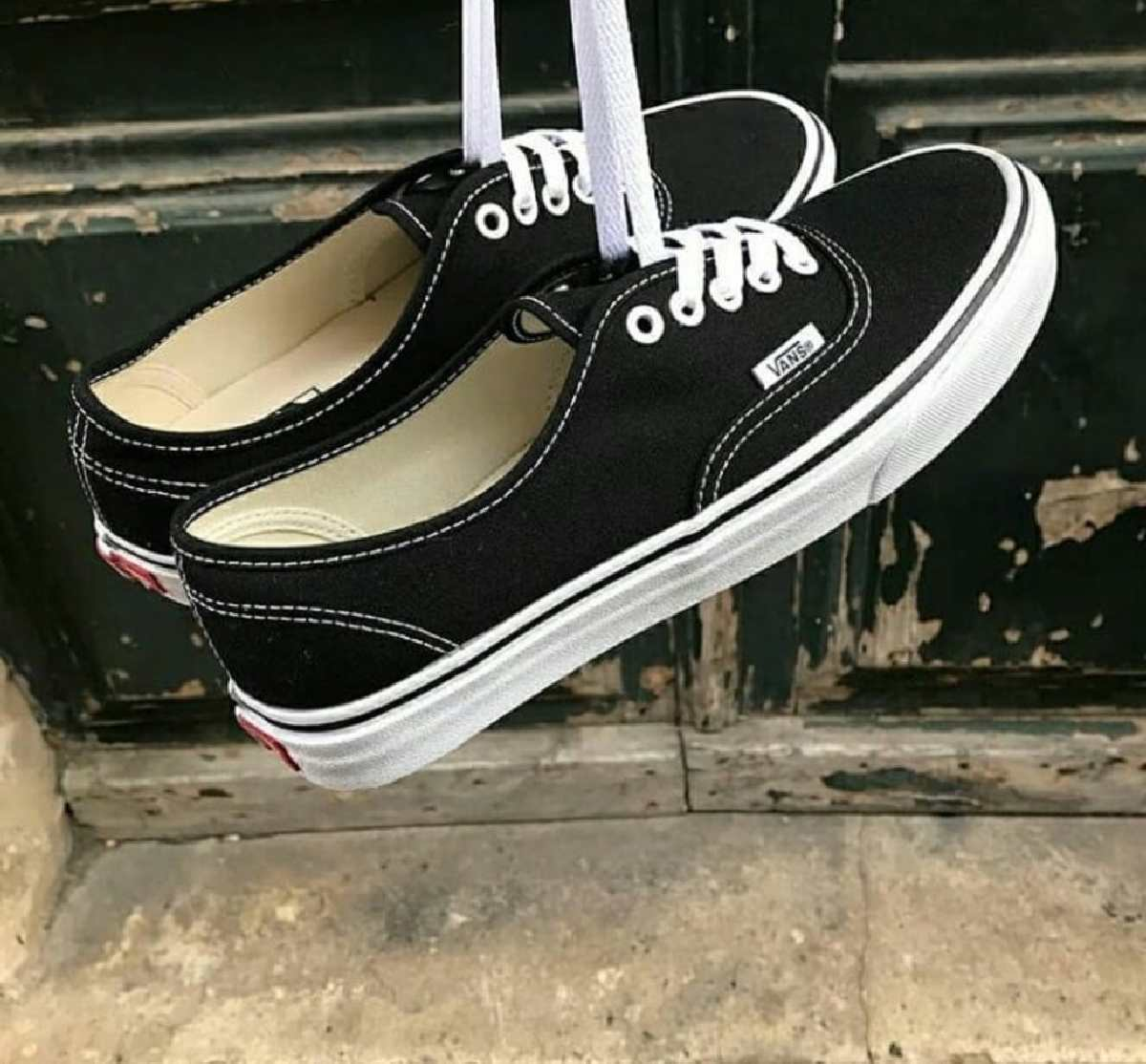 Vans Authentic Zwart Dames Heren Vn0a3479a6o 12