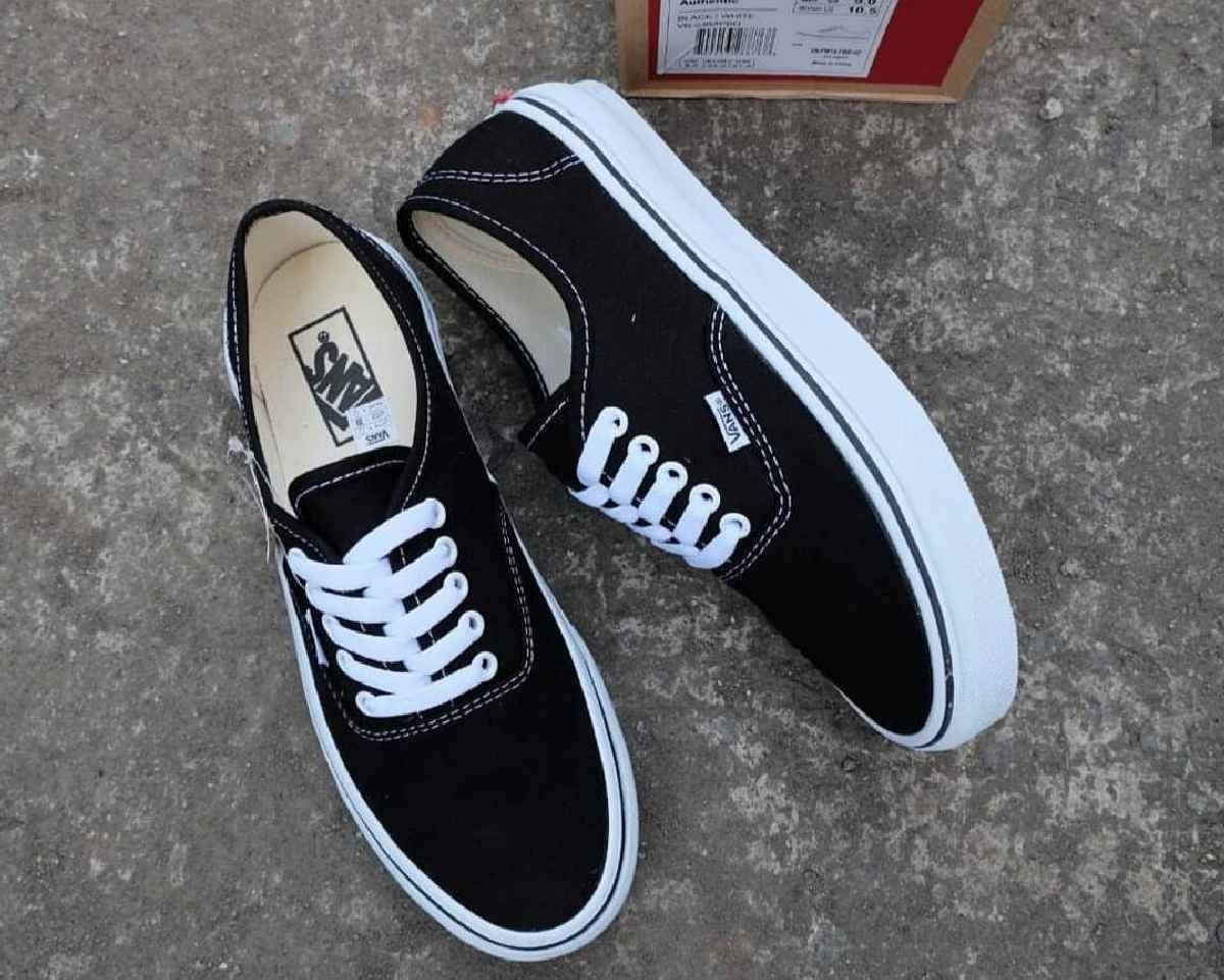 Vans Authentic Zwart Dames Heren Vn0a3479a6o 7