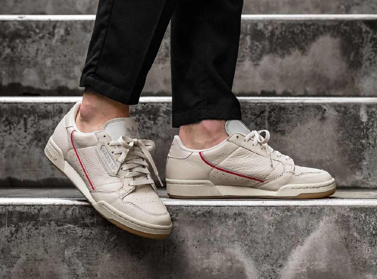 ᐅ • Review + Release: Adidas Continental 80 Beige · [Foto's