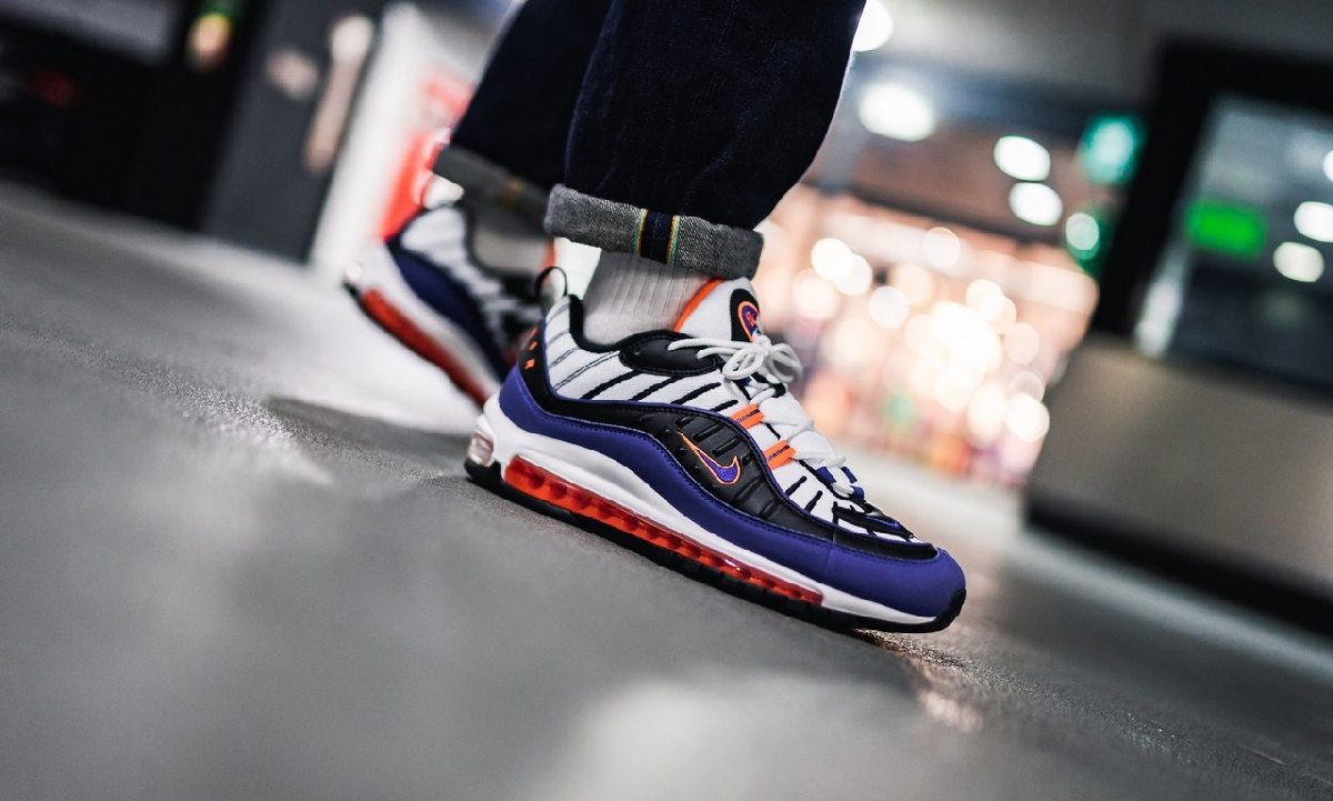 Nike Air Max 98 Multicolor Cd1536 100 Deep Royal Blue 11
