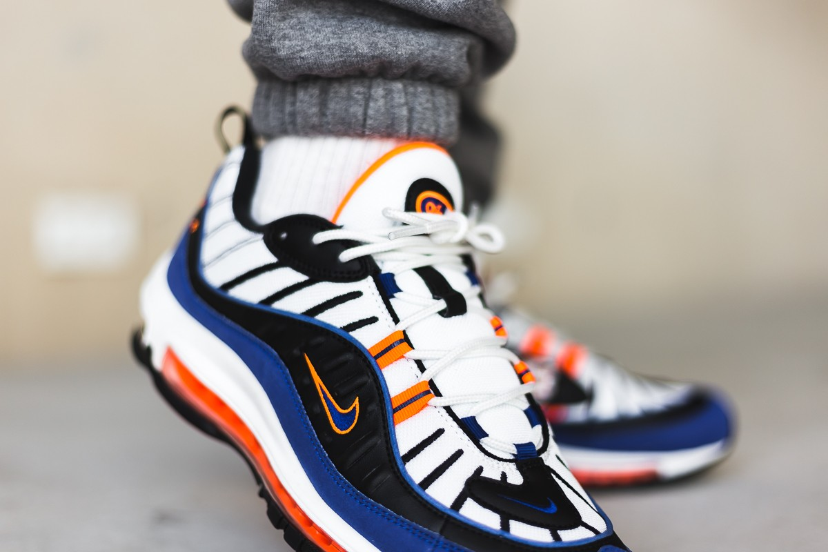 Nike Air Max 98 Multicolor Cd1536 100 Deep Royal Blue 15