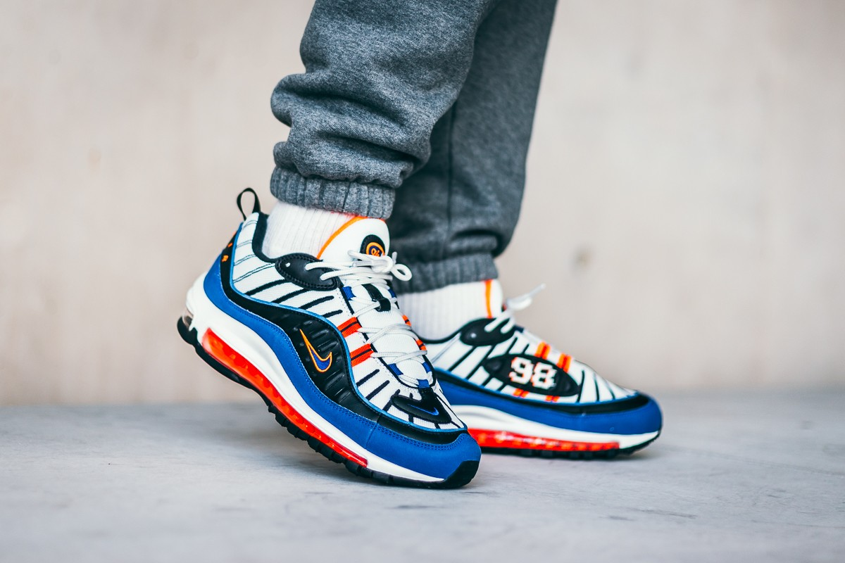Nike Air Max 98 Multicolor Cd1536 100 Deep Royal Blue 16