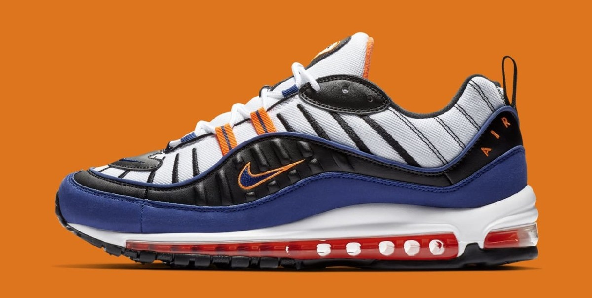 Nike Air Max 98 Multicolor Cd1536 100 Deep Royal Blue 8