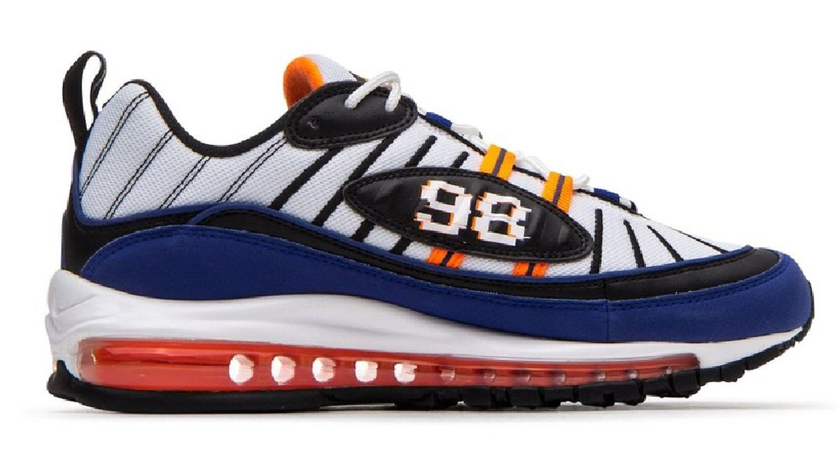 Nike Air Max 98 Multicolor Cd1536 100 Deep Royal Blue 9