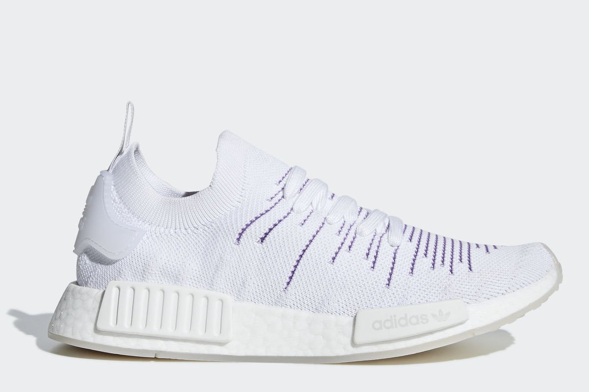 cheap for discount 7a2ce 167a5 adidas-nmdr1 stlt-Dames-wit-BD8017-witte-sneakers-dames