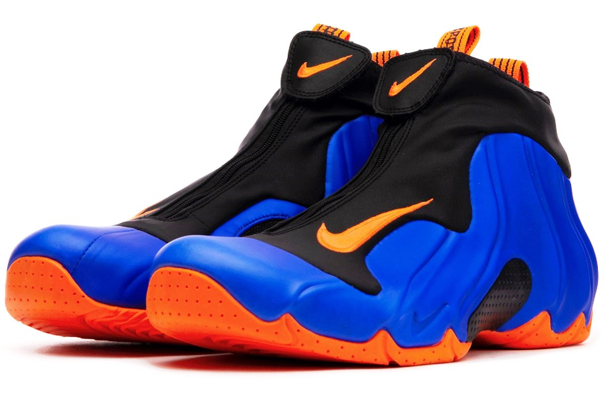 Nike Air Flightposite Heren Blauw Ao9378 401 Blauwe Sneakers Heren