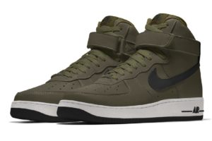 Nike Air Force 1 Heren Groen Aq3771 992 Groene Sneakers Heren